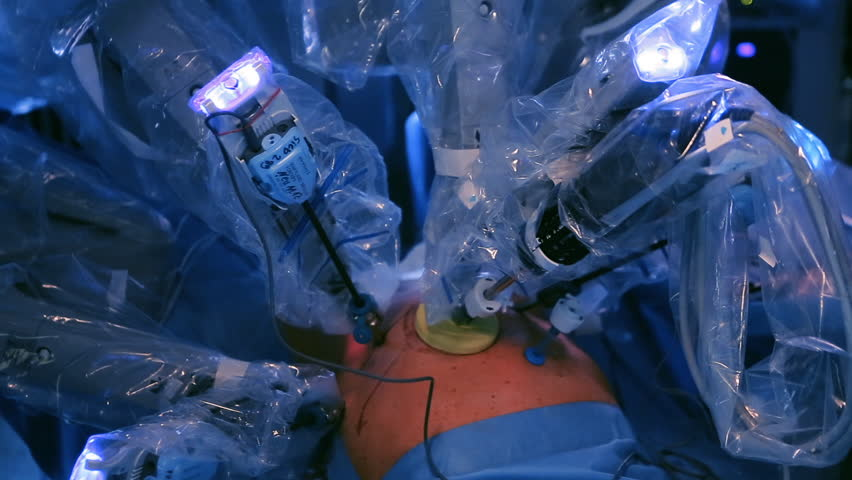 Surgery in the operating robotic technology