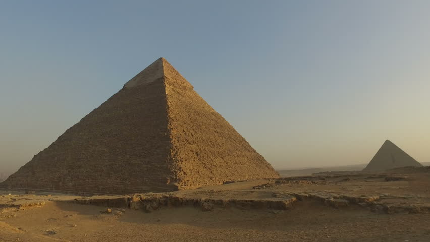 Pyramid of Khafre, second largest known pyramid in Egypt | Shutterstock HD Video #17487547