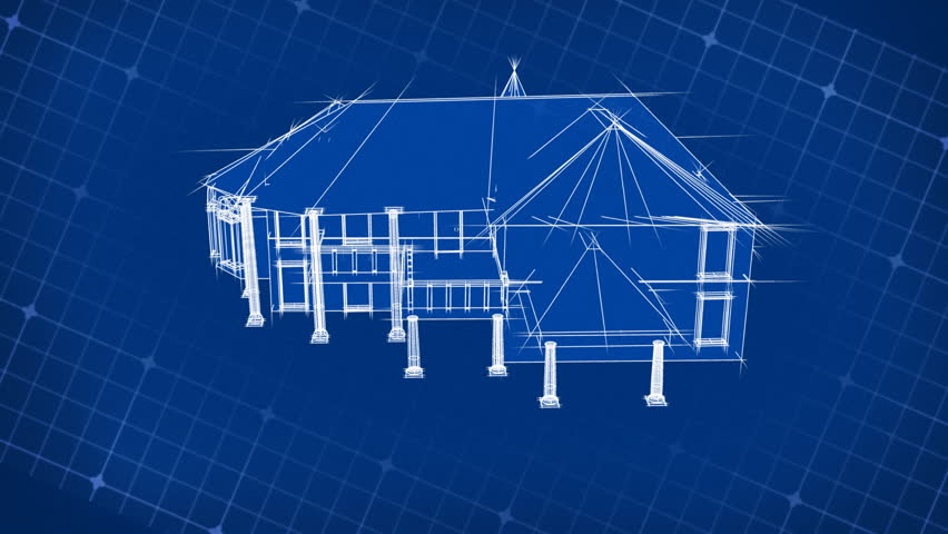 Blueprint stock video footage blueprint hd video clips bigstock blueprint house design 3d malvernweather Images