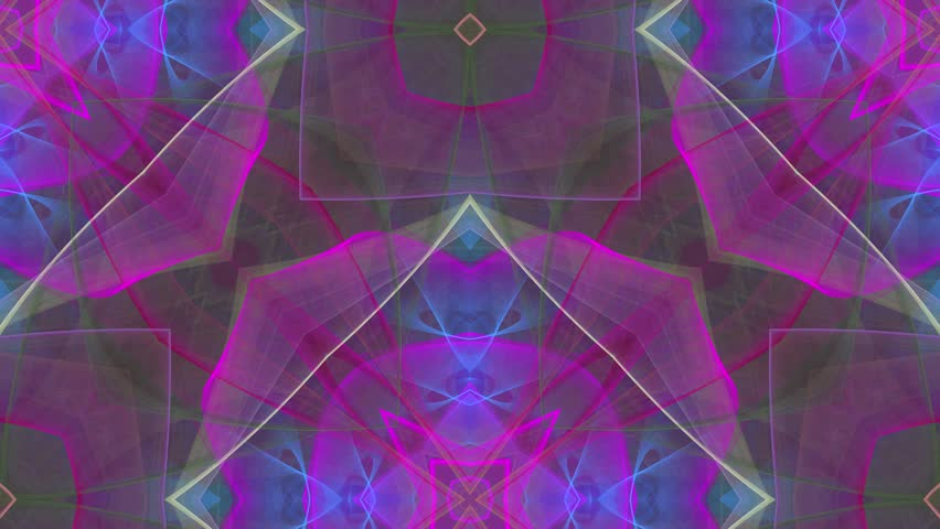 Abstract loop motion background, variegated kaleidoscope | Shutterstock HD Video #17693227