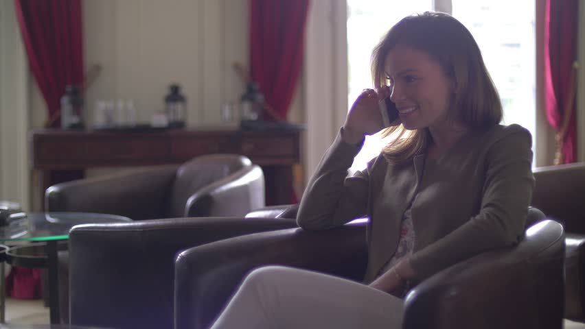 Young woman talking on the phone  | Shutterstock HD Video #17714527