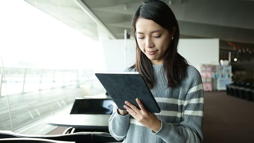 Woman using digital tablet computer  | Shutterstock HD Video #17770849