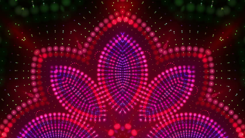 Hypnotic kaleidoscope stage visual loop for concert, night club, music video, events, show, fashion, holiday, exhibition, LED screens and projection mapping.