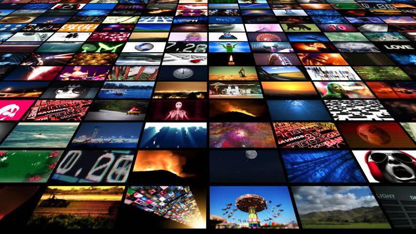 Video Wall Media Streaming HD | Shutterstock HD Video #1789433