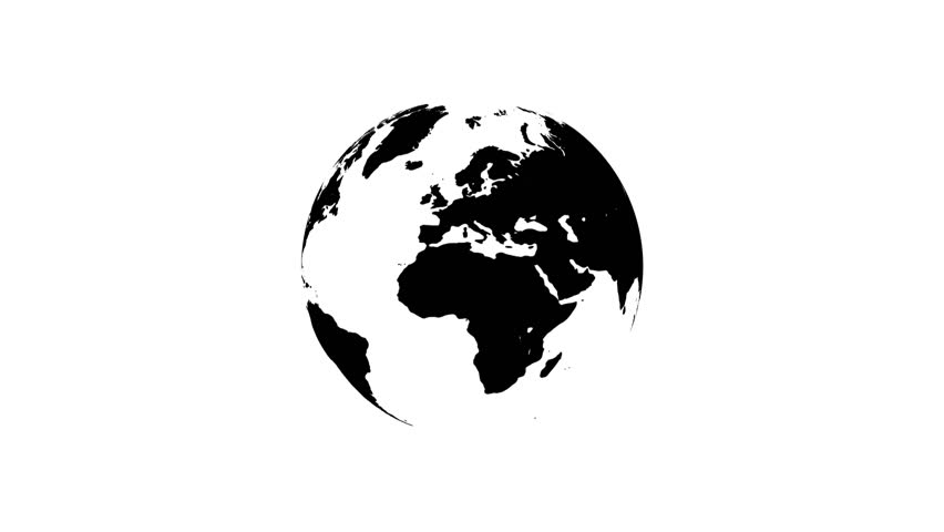Animation of planet earth on white background vector world map animation of planet earth on white background vector world map stock footage video 18106237 shutterstock gumiabroncs Gallery