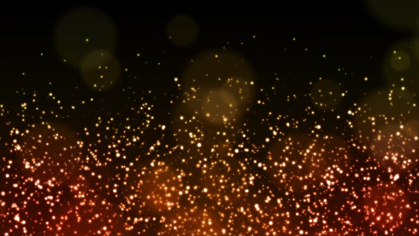 Christmas golden sparkle background with particles flowing gold holiday happy new year concept - Cg background hd ...
