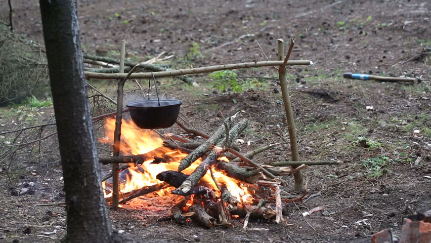 how to cook meat on campfire ark
