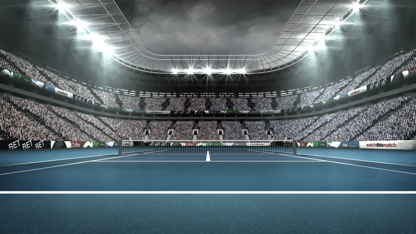 View of spectators in tennis stadium | Shutterstock HD Video #18325447