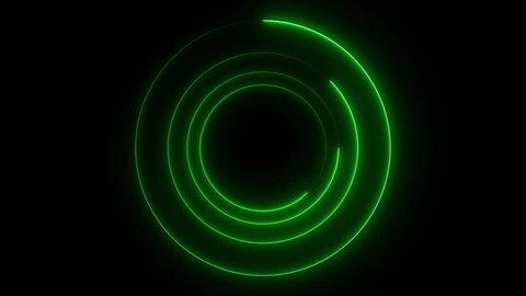 Neon Lights Vj Loop