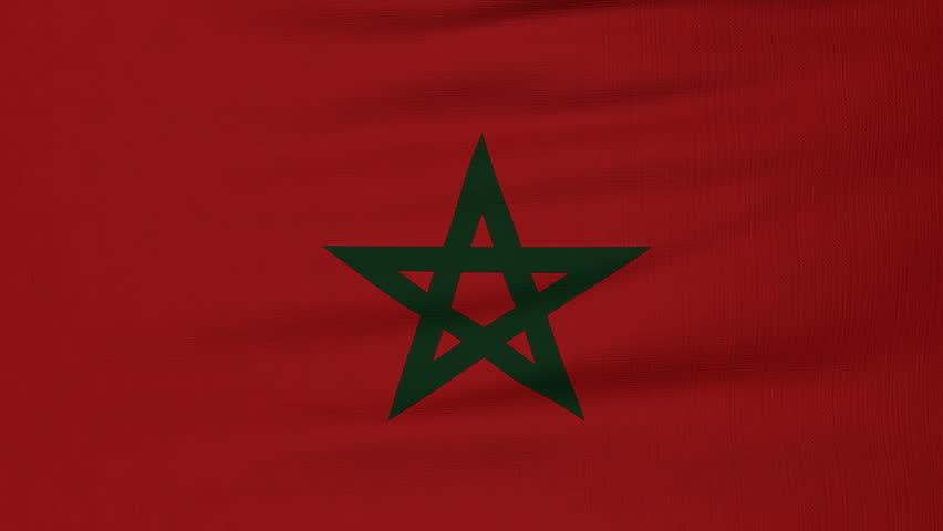 National Flag Of Morocco Flying Vidéos De Stock 100 Libres De Droit 18628517 Shutterstock
