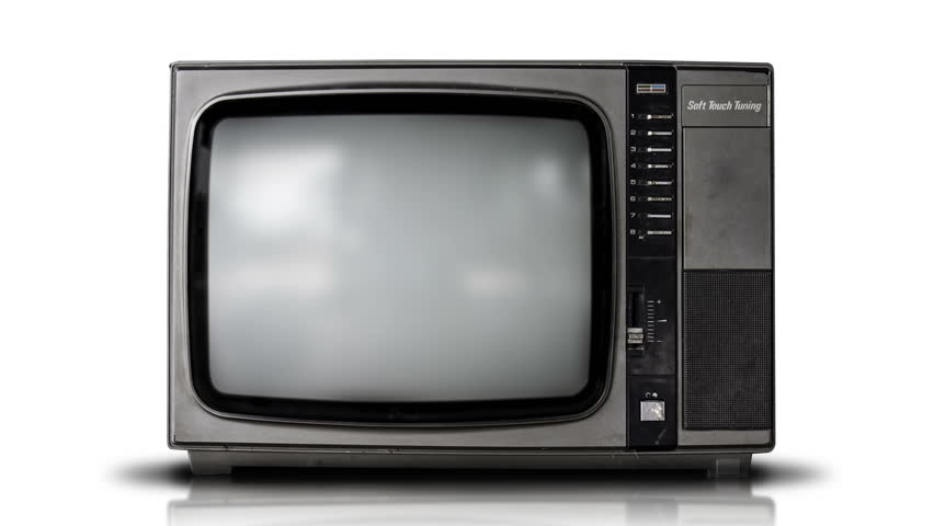 Vintage style old television | Shutterstock HD Video #18696647