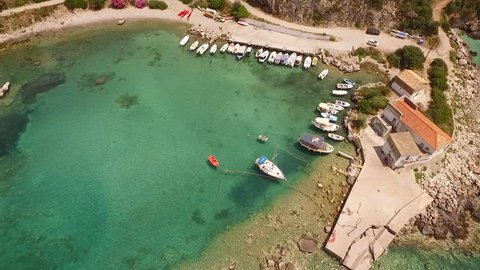 The quiet cove of Kardamili in Mani, Peloponnese.