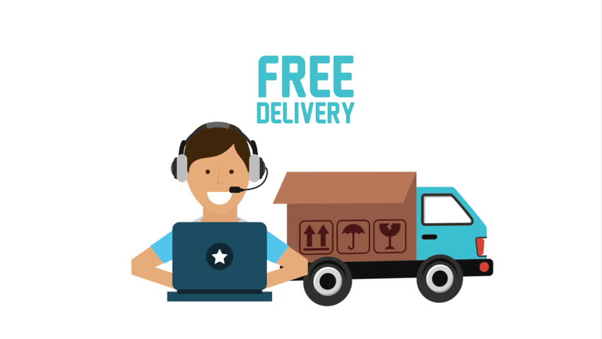 Delivery free transportation Video Animation, HD1080 | Shutterstock HD Video #19018357