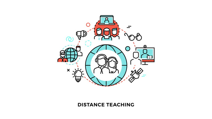 distance teaching Cecs distance education courses run concurrently with the courses taught on-campus at wright state university each lecture and the.