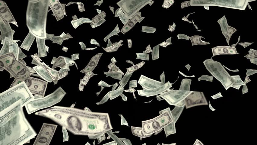 Money Falling Png Animated Exploding Whi...