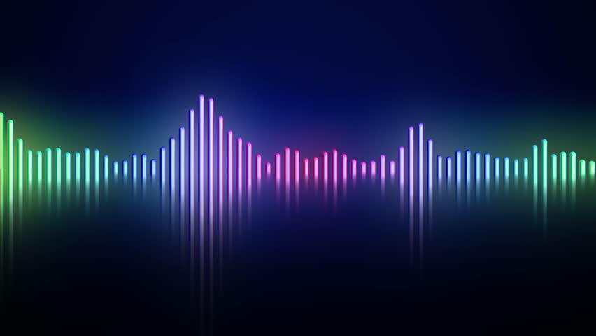 Audio frequency monitor sound wave | Shutterstock HD Video #19126357