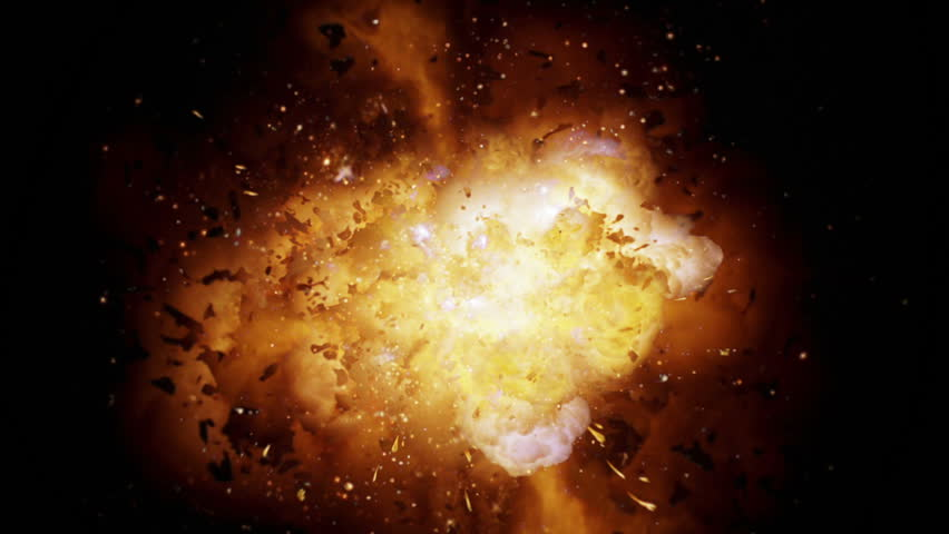 Realistic explosion and blasts with alpha channel. VFX element. | Shutterstock Video #19180015