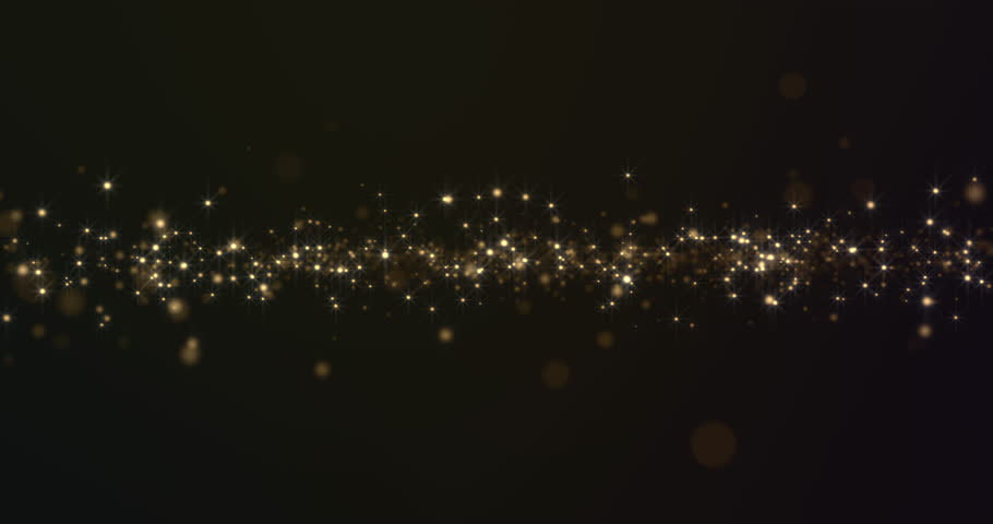 Abstract Gold Particles Background