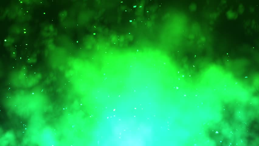 Wallpaper Hd Light Effect Wallpaper: Green Light Beams And Particles Loopable Background Stock