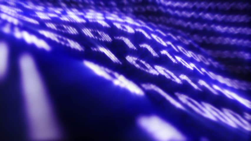 Binary Code Numbers Background, Loop, 4k  | Shutterstock HD Video #19313347