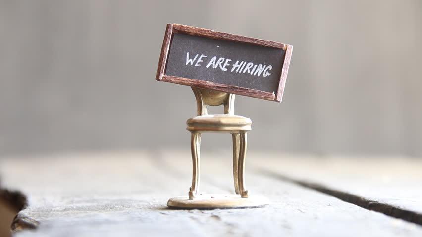 phrase we are hiring