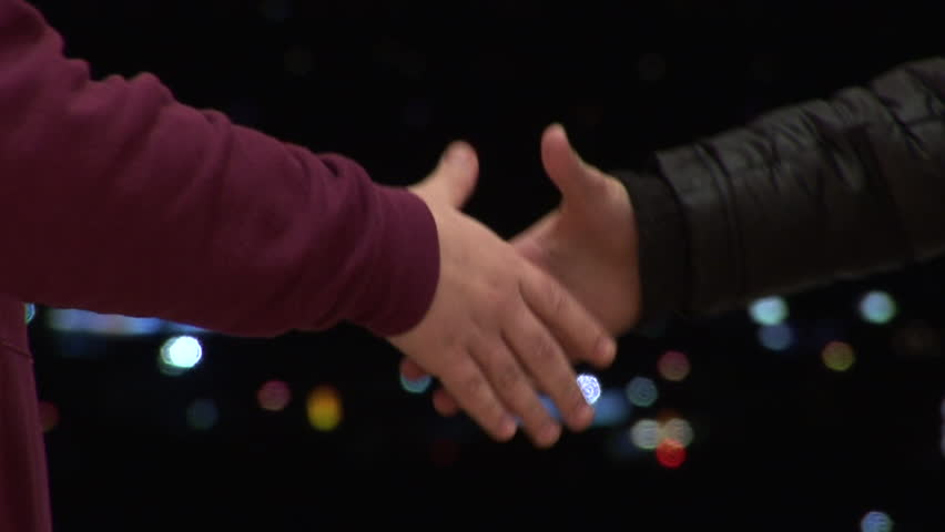 Young Couple Holding Hands, Interlocking Fingers