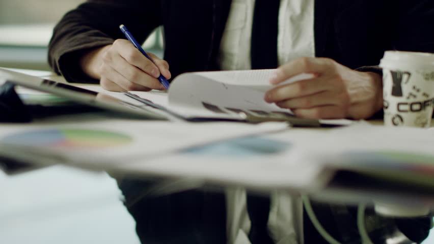 Working process in office | Shutterstock HD Video #19449907