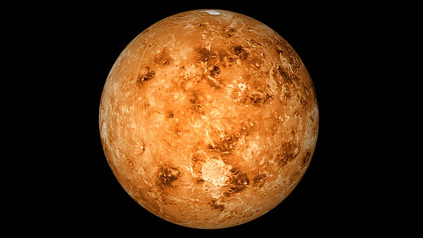 Venus is the second planet from the Sun high definition