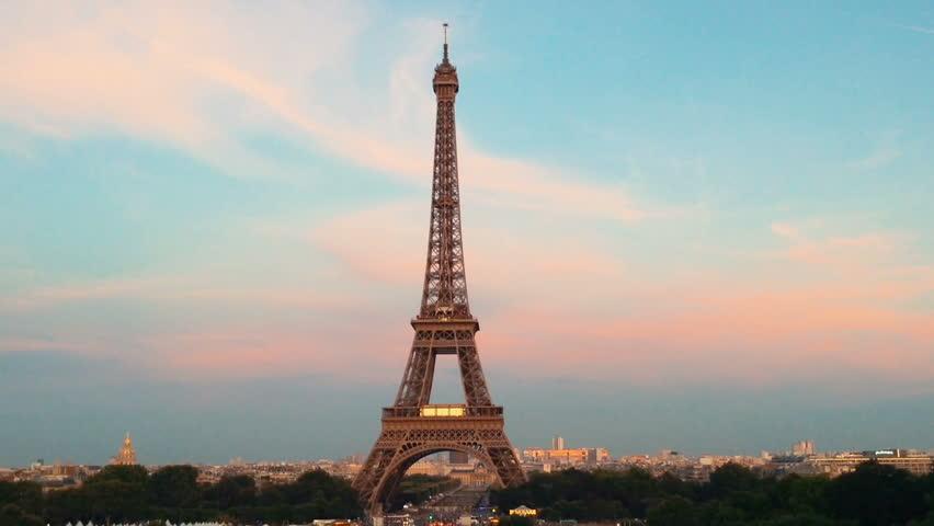 Paris Eiffel Tower 2 | Shutterstock HD Video #19491637