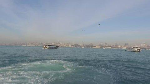 Istanbul City Sea Bridge