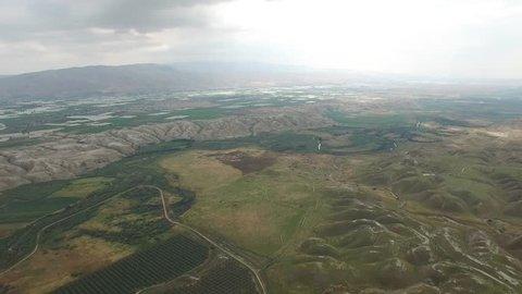 Lower Jordan - Agriculture fields in the Jordan Valley (Version 1 of 2)