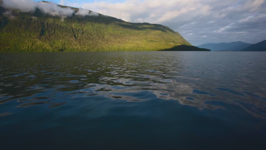 Serene scene by the lake in Canada | Shutterstock HD Video #19669504