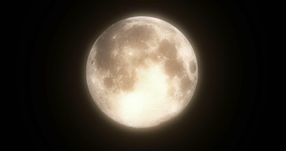 Bats are flying over full moon.High quality render in 4K.   | Shutterstock HD Video #19686787