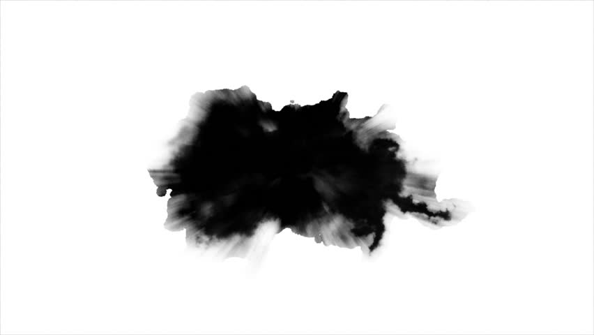 Dripping Ink on white background | Shutterstock HD Video #19710325