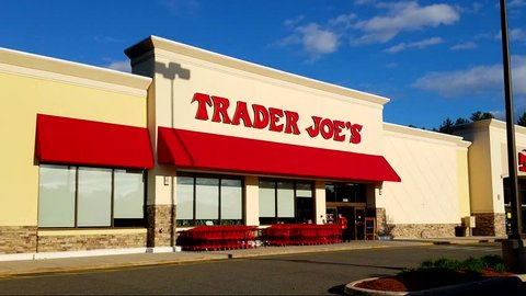 Trader Joe's discount retailer storefront - Saugus, Massachusetts USA - April 26. 2016