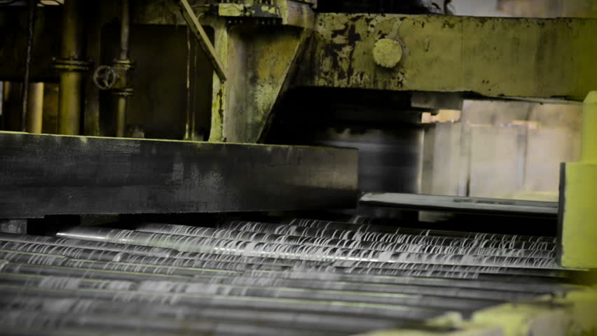 machine, the production of aluminum