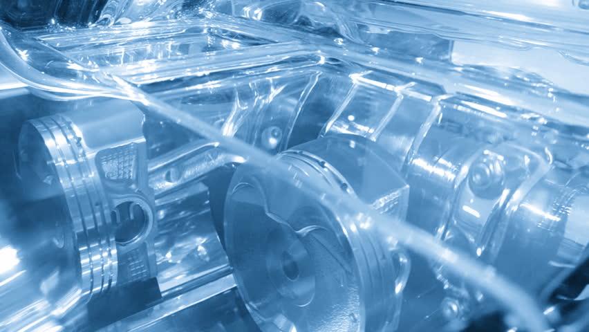 Modern industry car engine working | Shutterstock HD Video #1991998