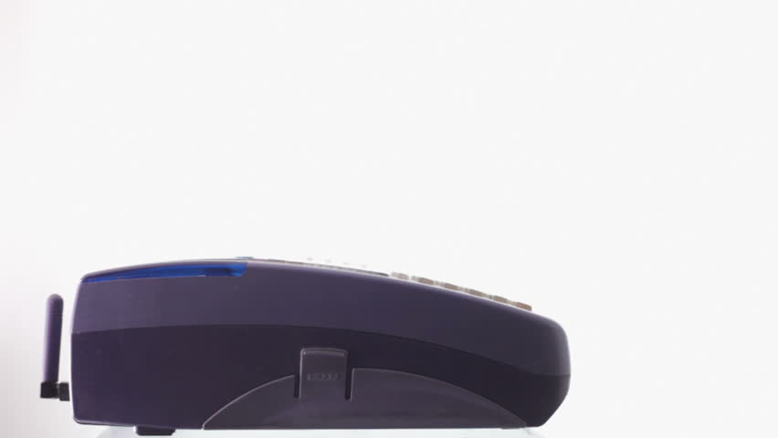 Credit Card Reader against the White Background