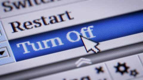 Turn Off. My own design of program menu.