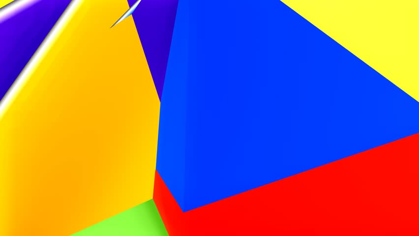 Stock Video Of Material Design Animated Background