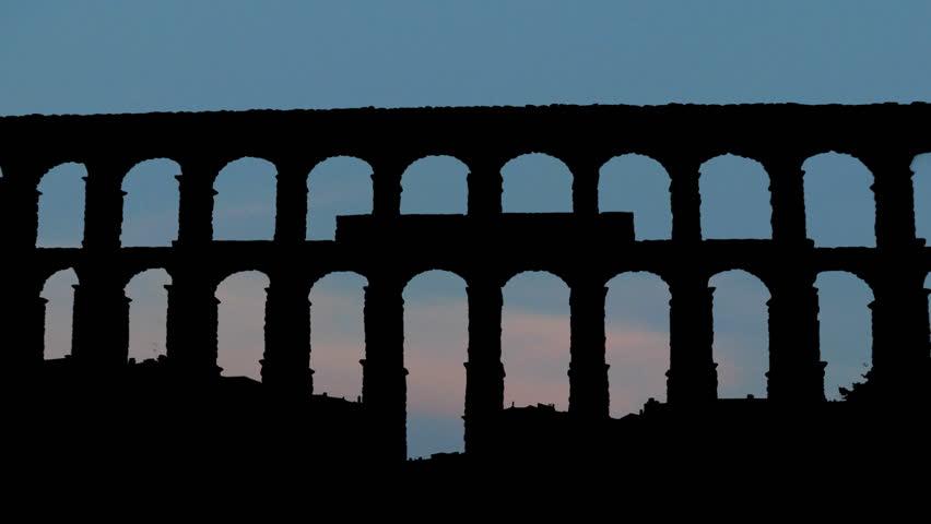 The Aqueduct of Segovia is a Roman aqueduct, located in the city of Segovia, in Spain. The Aqueduct of Segovia is listed as UNESCO World Heritage.
