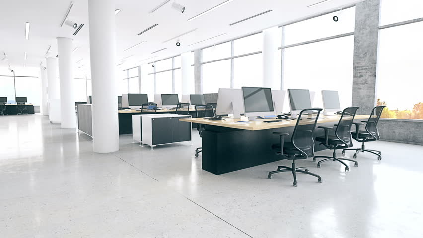 Modern Office Interior Stock Footage Video (100% Royalty Free) 20579557 |  Shutterstock