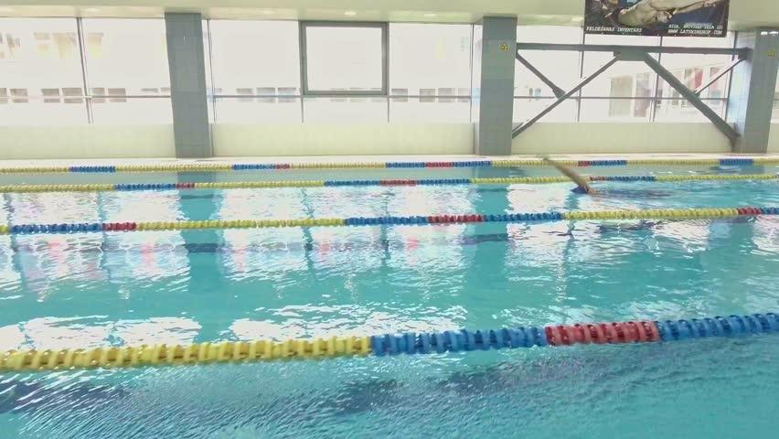 professional woman swimmer training in swimming pool   4k stock footage clip beachside hammocks sway in tropical breeze  stock footage video      rh   shutterstock