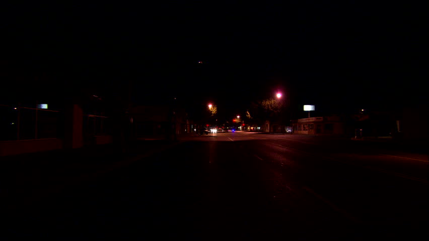 night Parked Process Plate Straight back 2nd lane ND city street, small businesses Green trees font color magenta b 360\xCC\xE2\xE5\xA1 spin out series