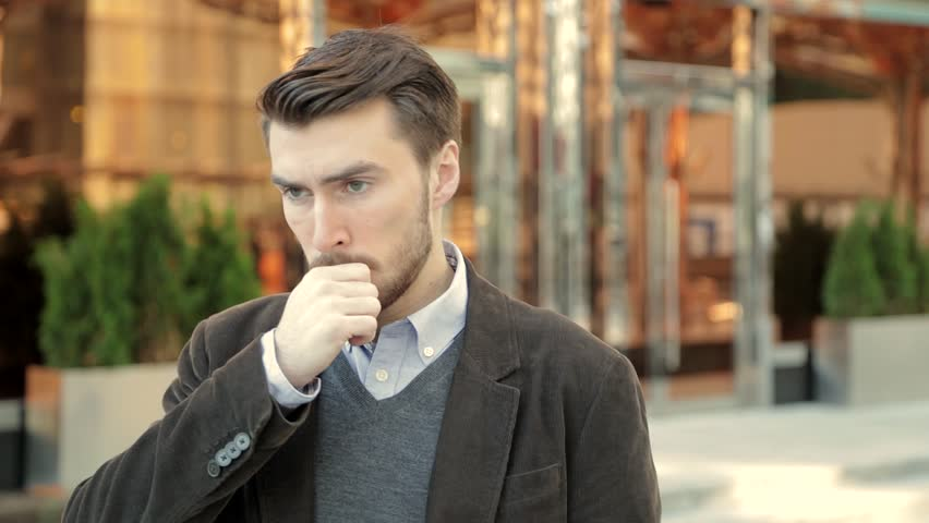 Attractive man is upset and stressed about events in his life | Shutterstock HD Video #20821447