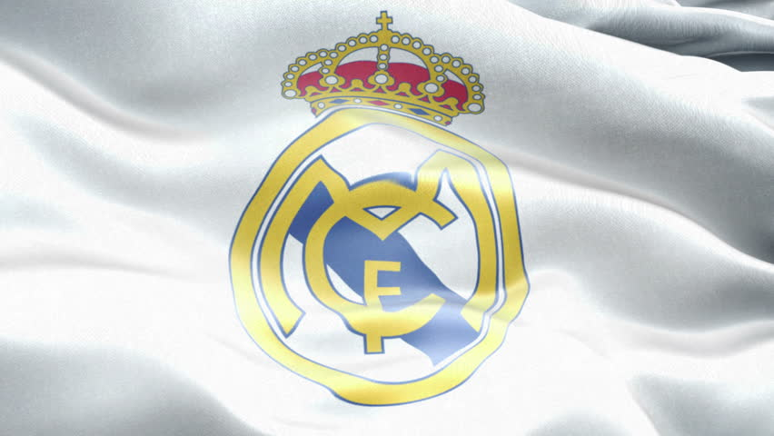 7666a1554 Animated logo of Spain football club Real Madrid