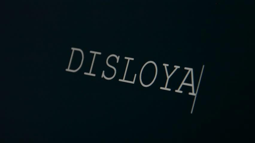 Header of disloyal