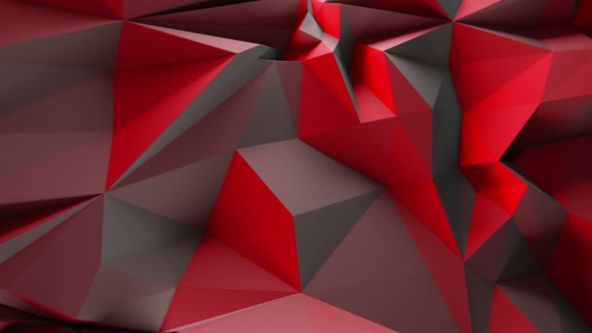 3d rendering triangular background. Spike and sharp forms. Deformation of triangulate surface. Abstract displacement fractured plane. Loopable sequence. | Shutterstock HD Video #21050227