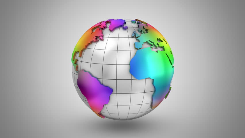 Stock video of world map turns into a globe 21078844 shutterstock visually similar footage gumiabroncs Gallery