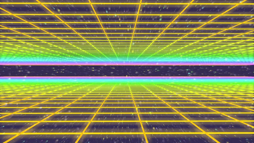 3D Animation - 80s retro background mesh  | Shutterstock HD Video #21157207